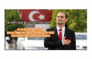 TEK ÇÖZÜM RECEP TAYYİP ERDOĞAN'DIR DEDİ