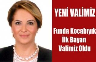 FUNDA KOCABIYIK UŞAK'IN İLK BAYAN VALİSİ...