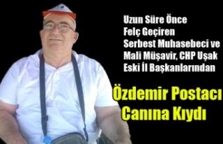 UŞAK'I ÜZEN OLAY ÖZDEMİR POSTACI İNTİHAR...