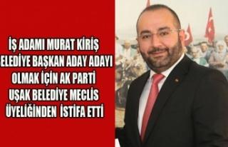 İŞ ADAMI MURAT KİRİŞ BELEDİYE BAŞKAN ADAY ADAYI...