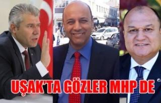 UŞAK'TA GÖZLER MHP DE 3 ADAY ADAYI ÇALIŞMA...