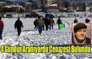 BANAZ DA KAYIP OLAN ASIM KAVAK'IN DONMUŞ BEDENİ...