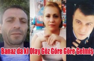 BANAZ DA POLİS MEMURU MEHMET AKSOY'UN ŞEHİT...