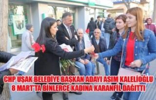 CHP UŞAK BELEDİYE BAŞKAN ADAYI ASIM KALELİOĞLU...