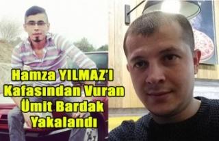UŞAK'TA HAMZA YILMAZ'I KAFASINDAN VURARAK...