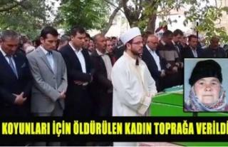 HIRSIZLAR 42 KOYUN İÇİN GÜLŞEN GÜNDÜZ'E...