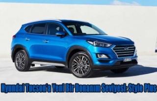 Hyundai Tucson'a Yeni Bir Donanım Seviyesi: Style...