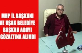 MHP UŞAK İL BAŞKANI AYHAN KINDEN VE BELEDİYE BAŞKAN...