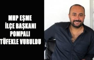 UŞAK'TA MHP KARIŞTI, EŞME İLÇE BAŞKANI...