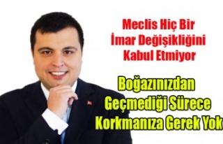 BOĞAZINIZDAN GEÇMEDİĞİ SÜRECE KORKMANIZA GEREK...