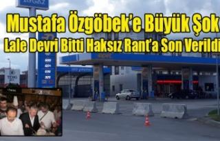MUSTAFA ÖZGÖBEK İÇİN DE LALE DEVRİ SONA ERDİ,...