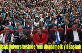 Uşak Üniversitesinde 2019-2020 Akademik Yılı Açılış...