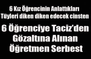İLKOKUL 4. SINIF ÖĞRENCİSİ 6 ÖĞRENCİYİ TACİZ...