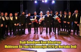 Uşak Belediyesi Kent Orkestrası Muhteşem Bir Yeni...