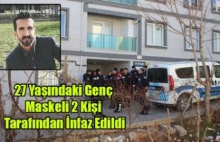 UŞAK'TA 27 YAŞINDAKİ GENÇ MASKELİ İKİ...