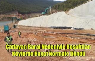 BANAZ'IN BOŞALTILAN KÖYLERİNDE HAYAT NORMALE...