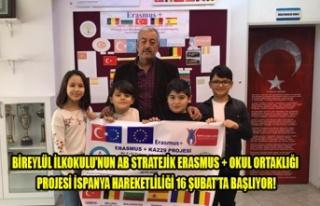 BİREYLÜL İLKOKULU ERASMUS PROJESİ 16 ŞUBATTA...
