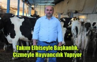 Takım Elbiseyle Başkanlık,Çizmeyle Hayvancılık...