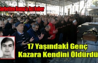 UŞAKLI LİSE ÖĞRENCİSİ SİLAHLA OYNARKEN KAZA...
