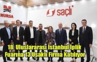 VALİ FUNDA KOCABIYIK İPLİK FUARINA KATILAN UŞAKLI...