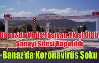BANAZ'DA KORONAVİRÜS TAŞICIYICISI 1 KİŞİ...