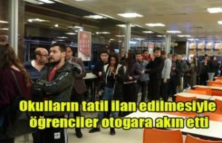 CORONO VİRÜSÜ NEDENİYLE OKULLAR TATİL EDİLDİ,...