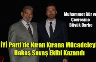 İYİ PARTİ'DE HAKAN SAVAŞ'I DEVİRME...