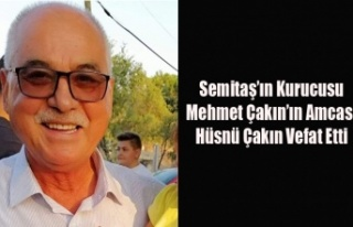 SEMİTAŞ'IN KURUCUSU, BAŞKAN ÇAKIN'IN...