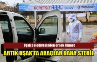 UŞAK BELEDİYESİNDEN ÖRNEK ÇALIŞMA, ARTIK UŞAK'TA...