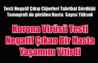 UŞAK'TA KORONA VİRÜSÜ ŞÜPHELENİLEN ANCAK...