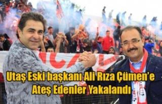 UTAŞ ESKİ BAŞKANI ALİ RIZA ÇÜMEN'E ATEŞ...