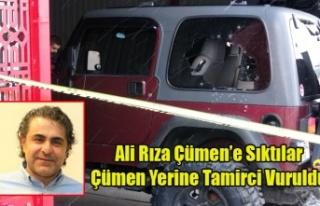UTAŞ'IN ESKİ BAŞKANI ALİ RIZA ÇÜMEN'E...