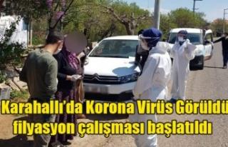 Karahallı'da Koronavirüs'e rastlandı ilçede...