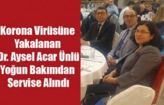 KORONA VİRÜSÜNE YAKALANAN DR. AYSEL ÜNLÜ'DEN...
