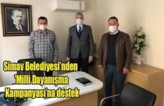 Simav Belediyesi'nden 'Milli Dayanışma Kampanyası'na...