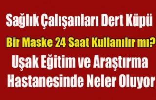 UŞAK EĞİTİM VE ARAŞTIRMA HASTANESİ BAŞHEKİMİ,...