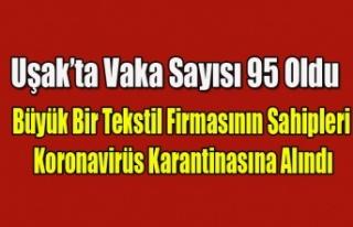 UŞAK'TA BÜYÜK BİR TEKSTİL FİRMASININ SAHİPLERİNE...