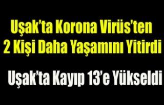 Uşak'ta Korona Virüsünden 2 Kişi Daha Yaşamını...