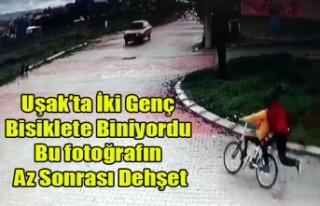Bisiklete Binen İki Genç Araç Altında Kaldı O...