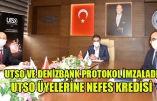 UTSO ÜYELERİNE DENİZBANK'DAN DÜŞÜK FAİZLİ...