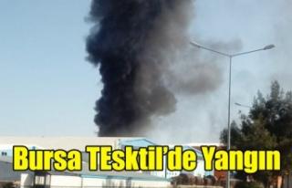 UŞAK TEKSTİL OSB DE BULUNAN BURSA TEKSTİL'DE...