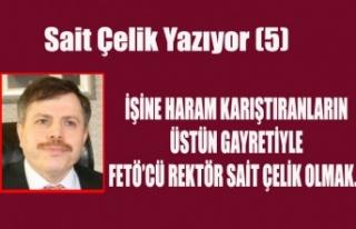 İŞİNE HARAM KARIŞTIRANLARIN ÜSTÜN GAYRETİYLE...
