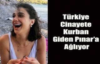 Türkiye Vahşi bir cinayete kurban giden Pınar'a...