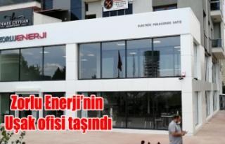 Zorlu Enerji'nin Uşak ofisi Atapark'a taşındı
