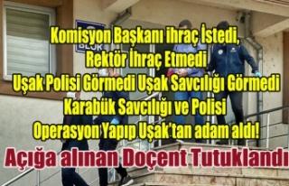 Karabük Polisi Uşak'ta Operasyon Yaptı, Açığa...