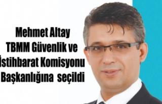 Mehmet Altay TBMM Güvenlik ve İstihbarat Komisyonu...