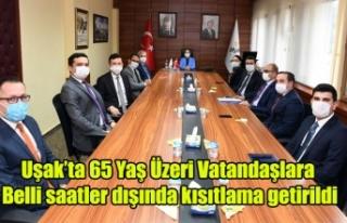 Uşak'ta 65 Yaş Üzeri Vatandaşlar Yalnız...