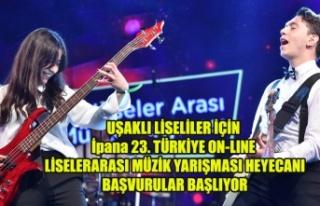 UŞAKLI LİSELİLER İÇİN İpana 23. TÜRKİYE ON-LINE...