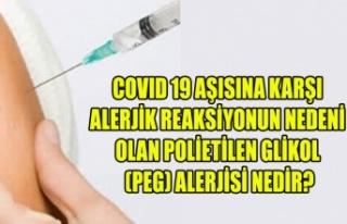 COVID 19 AŞISINA KARŞI ALERJİK REAKSİYONUN NEDENİ...