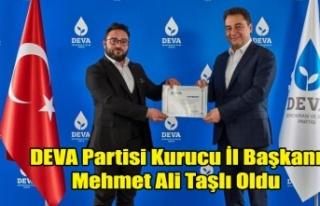 DEVA PARTİSİ KURUCU İL BAŞKANI MAKİNE MÜHENDİSİ...